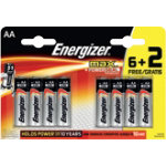 ENERGIZER Batteries AA Max 15 V Pack