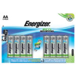 Energizer Batteries Eco Advanced AA Pack 8
