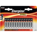 Energizer Max Batteries AAA Pack