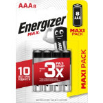 Energizer Batteries Max AAA Pack 8