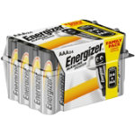 Energizer Batteries Alkaline Power AAA Pack 24