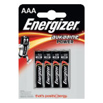 Energizer Batteries Alkaline Power Standard AAA 15 V 4 Pack