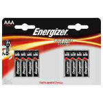 Energizer Batteries Alkaline Power Standard AAA 15 V 8 Pack