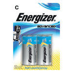 Energizer Batteries Eco Advanced C Pack 2