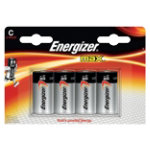 Energizer Batteries Max C Pack 4