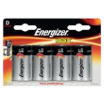 Energizer Batteries Max D Pack 4