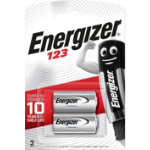 Energizer Batteries Photo Lithium 123 2 Pack