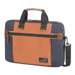 Samsonite Shoulder Bag Sideways 156 inch Blue Orange