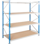 ARNO SPACE Archive Shelving Unit Grey
