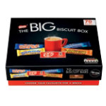 Nestle Chocolate Biscuit Bars The Big Biscuit Box 70 pieces