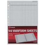 Twinlock Variform V4 11 3 4 X 8 1 4 5 Cash Column Sheets