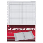 Twinlock Variform V4 11 3 4 X 8 1 4 6 Cash Column Sheets