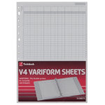 Twinlock Variform V4 11 3 4 X 8 1 4 14 Cash Column Sheets