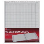 Twinlock Variform V8 11 3 4 X 14 10 Cash Column Sheets