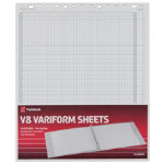 Twinlock Variform V8 11 3 4 X 14 14 Cash Column Sheets