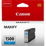 Canon PGI 1500 Original Ink Cartridge Cyan