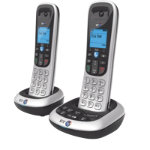 BT Dect Twin Phone BT 2600 Silver