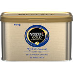 Nescafe Instant Decaffeinated Coffee Gold Blend 500 g