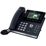 Yealink Corded Telephone SIP T46GN Black