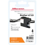 Office Depot Compatible for Brother LC 123 Black Ink Cartridge LC123