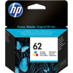 HP 62 Original 3 Colours Ink Cartridge C2P06AE