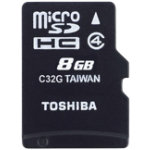 Toshiba SD Card M102 8 GB