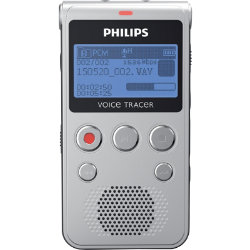Philips Voice recorder DVT1300 Black and grey