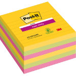 Post it Sticky pads Super Assorted Ruled 101 x 101 mm 74gsm