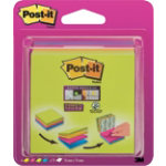 Post it Sticky pads Rio Assorted 76 x 76 mm