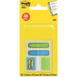 Post it Index Notes Aquatic Assorted 380 x 254 mm