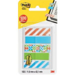 Post it Index notes Geos Assorted 432 x 119 mm