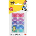 3M Index notes 684 Assorted Plaid printed 432 x 119 mm