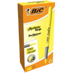 BIC Highlighter 811935BX Yellow 12