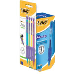 BIC Velocity Gel Rollerball Pen Blue Box 16