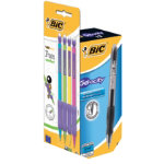 BIC Velocity Gel Rollerball Pen Black Box 16