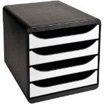 Exacompta Drawer Set 3104213D Black White