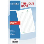 Exacompta Triplicate book 2113TLZ Perforated edges Ruled