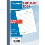 Exacompta Triplicate book 1510TLZ A6 Perforated edges