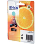 Epson Original Ink Cartridge C13T33424010 Cyan