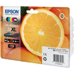 Epson 33XL Original Black 4 Colours Ink Cartridge C13T33574010