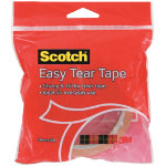 Scotch Easy Tear Tape ET1930 Clear 19 mm x 30 m
