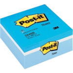 Post it Sticky notes Blue cube Assorted 76 x 76 mm