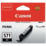 Canon 571 Original Black Ink Cartridge 0385C001