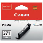 Canon 571 Original Grey Ink Cartridge 0389C001