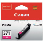 Canon 571 Original Magenta Ink Cartridge 0387C001