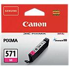 Canon 571 Original Magenta Ink Cartridge 0387C001
