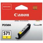 Canon 571 Original Yellow Ink Cartridge 0388C001