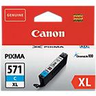 Canon 571XL Original Cyan Ink Cartridge 0332C001