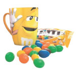 M Ms Big Face Mug Yellow