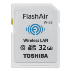 Toshiba Memory card FlashAir W03 32GB 32 GB